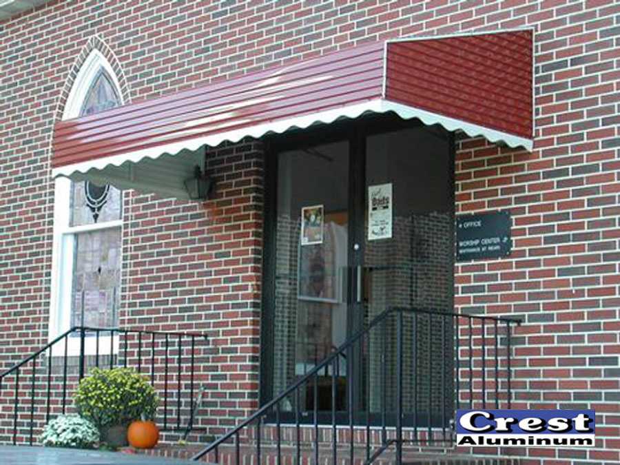 Stepdown Awning Design Gallery Crest Aluminum Products Co Inc